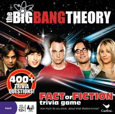 Apparently this is a trivia game based on The Big Bang Theory TV show. Feel dumb and can't think of the answer or answer correctly and feel like a genius.