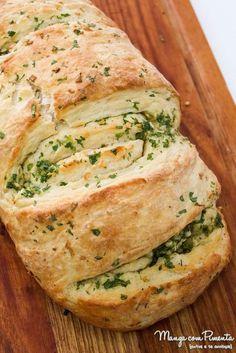 Receita de Pão de Alho e Manteiga - Caseiro