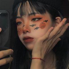 cute girl ulzzang 얼짱 hot fit pretty kawaii adorable beautiful korean japanese asian soft grunge aesthetic 女 女の子 g e o r g i a n a : 人 Edgy Makeup, Eye Makeup Art, Cute Makeup, Pretty Makeup, Beauty Makeup, Soft Grunge Makeup, Anime Eye Makeup, Makeup Eyes, Halloween Eye Makeup