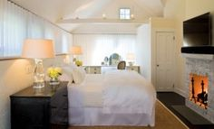 Sfeervolle slaapkamer zolder
