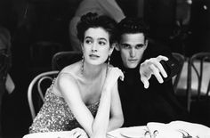 Sean Young Matt Dillon by Pamela Hanson on the set of A Kiss Before Dying (James Dearden, Young Matt Dillon, Dallas Winston, Pamela Hanson, Sean Young, Elizabeth Mcgovern, Image Film, In Another Life, Iconic Photos, Famous Photographers