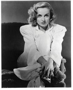 Carole Lombard in a portrait for the movie In Name Only (1939) Photographed by Ernest Bachrach Image Source: Profiles in History