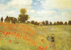 "Monet: ""Field of Poppies"""