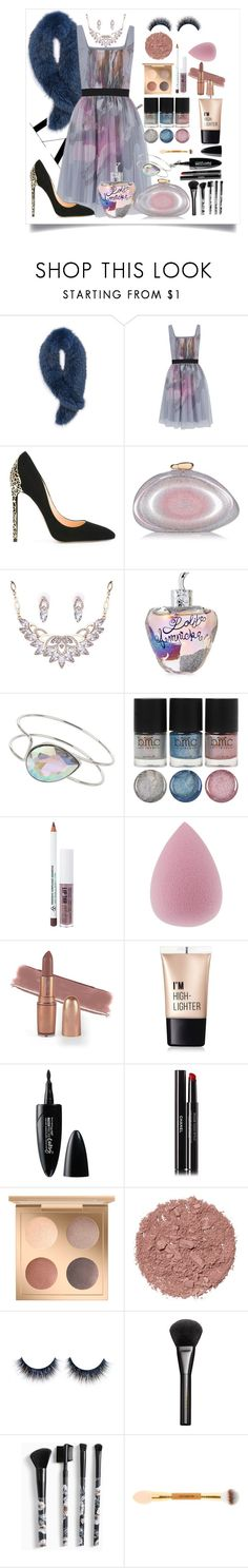 """Little dress"" by firdawskone on Polyvore featuring Andrew Marc, Little Mistress, Cerasella Milano, Benedetta Bruzziches, Lolita Lempicka, Miss Selfridge, Obsessive Compulsive Cosmetics, Charlotte Russe, Maybelline and Chanel"