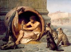 Jean Leon Gerome Diogenes print for sale. Shop for Jean Leon Gerome Diogenes painting and frame at discount price, ships in 24 hours. Art Of Manliness, Diogenes Of Sinope, Charles Gleyre, Jean Leon, Alexander The Great, Memento Mori, Ancient Greece, Renoir, Dali