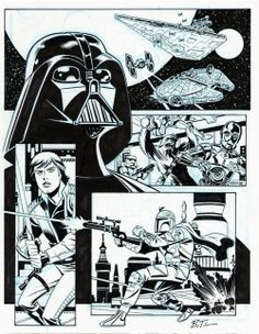 Star Wars. Bruce Timm. Approved! :D