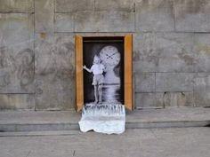 Murales urbanos hechos por artistas desconocidos.   Quiero más diseño