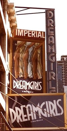 Click the image for more information about DREAM GIRLS On Broadway New York 1983 Musical Theatre Broadway, Broadway News, Broadway Plays, Theatre Plays, Cotton Club, Theatre Posters, Movie Posters, Illustrations Posters, New York City