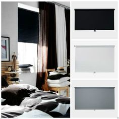 IKEA ★ TUPPLUR ★BLACKOUT BLIND ★ BLACK, WHITE OR GREY ★ NEW CHILD SAFETY DESIGN | eBay
