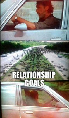 The Walking Dead #TWD #relationshipgoals #RICKnMICHONNE