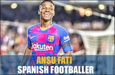 Spanish Professional footballer Ansu Fati faced a knee injury during the battle between FC Barcelona and Real Betis. Barcelona won the match for 5-2 home win. #AnsuFati #SpanishProfessionalfootballer #Football