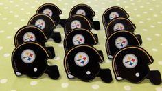 Steelers Cupcake Rings by ChristyMaries83 on Etsy, $4.50 @Teresa Selberg Maxwell