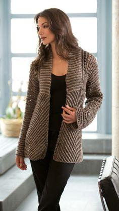 Free Pattern Knit Jacket