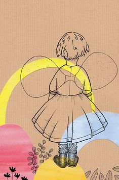 Click to see more wall art from Cheeky Chops Art, like this fairy girl print, ideal for nurseries. Fairy Bedroom, Girls Bedroom, Bedroom Ideas, Bedrooms, Nursery Themes, Nursery Decor, Ballerina Nursery, Websites Like Etsy, Wing Wall