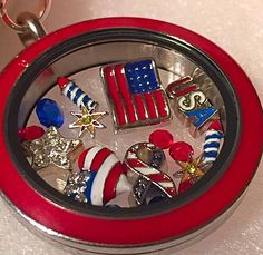 Origami Owl {4th of July Collection}  Shop the Summer Collection now! ❤️ #origamiowl #4thofJuly