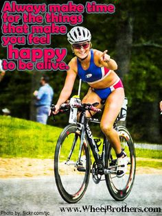Don't forget to make yourself happy! #cycling #fitness #inspiration #motivation