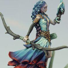 Marike Reimer – Destroyer Minis Warhammer Wood Elves, Warhammer Paint, Warhammer Fantasy, Warhammer 40k, Dnd Elves, Minis, Daily Fantasy, Wood Elf, Fantasy Miniatures