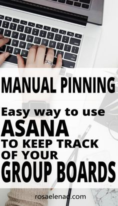 Free and easy method to keep track of your group boards on Pinterest. | Manual Pinning