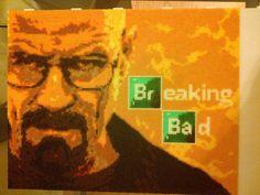 Breaking Bad Heisenberg perler bead sprite pixel art  - Imgur