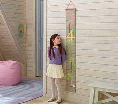 Wood wall! Kids room.