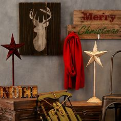 Look at this Industrial Christmas: Décor on #zulily today!
