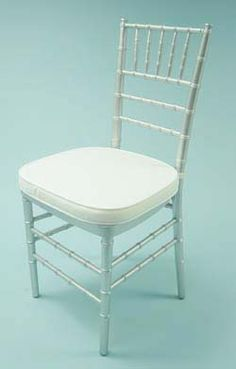Chairs > Silver Chiavari Ballroom with Cushion (025-102 $4.50)