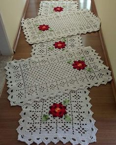 Filet Crochet, Crochet Motif, Crochet Shawl, Crochet Doilies, Crochet Flowers, Crochet Placemats, Crochet Table Runner, Crochet Potholders, Crochet Square Patterns