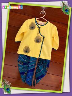 Baby Boy Ethnic Wear, Ethnic Wear For Boys, Kids Indian Wear, Kids Wear Boys, Baby Boy Dress, Baby Girl Dresses, Baby Boy Outfits, Kids Outfits, Kids Dress Wear