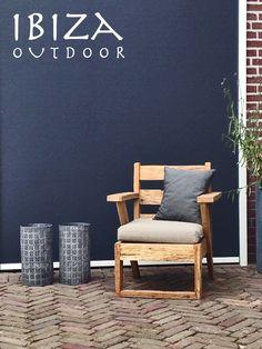 robuuste loungestoel tuin | by Ibiza Outdoor