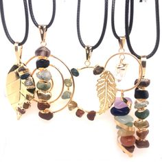 5 x Different Chakra Pendant Gold - BR 1042 Gemstone Jewelry, Gemstone Pendants, How To Clean Silver, Amethyst, Ruby Sapphire, Gold Plated Rings, Gold Jewellery Design, Chakra Stones, Green Aventurine