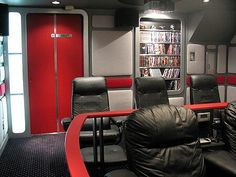 Star Trek Home Theater United Federation Of Planets Colorado Homes Universe