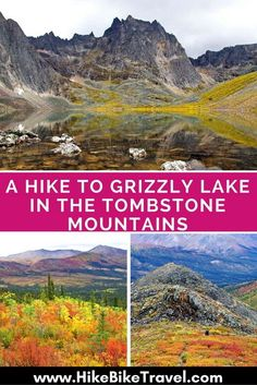 Extend your Alaska Highway road trip to the Yukon near Dawson City to take this hike: A Hike to Grizzly Lake in the Tombstone Mountains Camping And Hiking, Hiking Trails, Backpacking Trips, Places To Travel, Places To Visit, Canada Destinations, Visit Canada, Mountain Hiking, Banff National Park