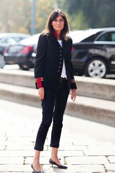 11 WAYS TO WEAR KITTEN HEELS | EMMANUELLE ALT | Le Fashion | Bloglovin'