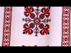 Beregi keresztszemes hímzés – Felső-Tisza-vidéki keresztszemes hímzés - YouTube String Art, Folk Art, Diy And Crafts, Bohemian Rug, Cross Stitch, Embroidery, Traditional, Rugs, Hungary