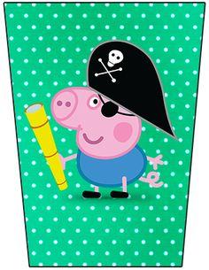 Bisnaga Brigadeiro George Pig Pirata: