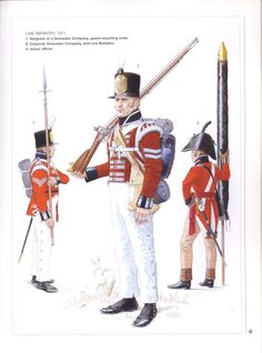 Napoleonic Military Paintings/Sketches/Uniform Plates - page 7 - Historical Discussion - Flying Squirrel Entertainment British Army Uniform, British Uniforms, British Soldier, Military Art, Military History, Empire, Commonwealth, English Army, Royal Marines