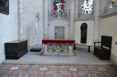 chateau de blois interieur de la chapelle saint calais