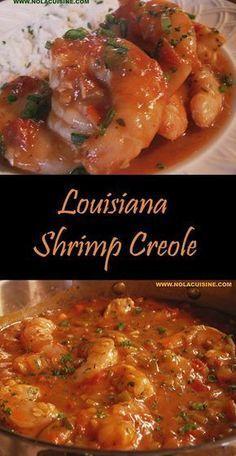 Cajun Shrimp Recipes, Shrimp Recipes For Dinner, Seafood Dinner, Seafood Recipes, Shrimp Ettouffe Recipe, Cajun And Creole Recipes, Voodoo Shrimp Recipe, Prawn Recipes, Baked Shrimp