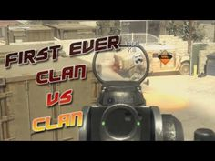 First ever Clan vs Clan Match in Call of Duty for me