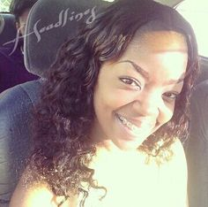 Clients photo. Full sew in