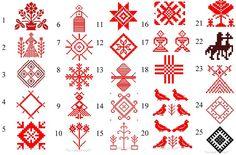 славянские этнические узоры - Поиск в Google