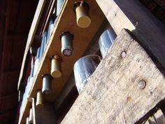 Recycled Wine Rack- Montague, MI