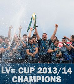 Exeter Chiefs. Exeter Chiefs, Kingfisher, Rugby, Champion, Fans, Dreams, Sports, Movies, Poster