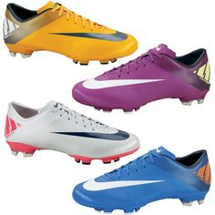 f3a371c4651 Nike Mercurial Victory II FG Mens Soccer Cleats Orange Silver