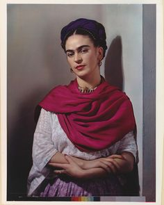 "46k Likes, 300 Comments - The Met (@metmuseum) on Instagram: ""Happy Birthday, #FridaKahlo! The artist, depicted here by Nickolas Murray, was born July 6, 1907.…"""