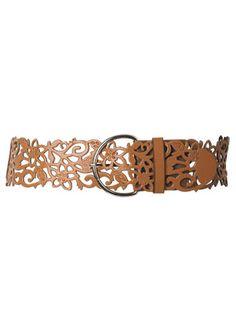 Taza Laser Cutout Belt