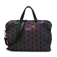 2016  Brand Noctilucent Women Bao Bao Bag High Quality Geometric Handbags Plaid Shoulder Diamond Lattice BaoBao Briefcase Bags-in Shoulder Bags from Luggage & Bags on Aliexpress.com | Alibaba Group