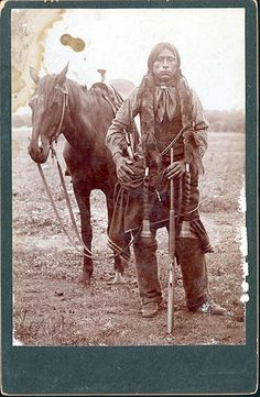 Photo of what is appears to be a young Comanche and his Horse. Does anyone know the name of this young man or the photographer? This looks like a young Quanah Parker, last war chief of the Comanche. Native American Images, Native American Beauty, Native American Tribes, Native American History, American Indians, Comanche Indians, Quanah Parker, Indian Pictures, Native Indian