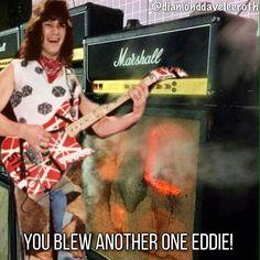 Eddie Van Halen music meme