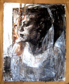 Smaragda Papoulia-Vasilakoudi (Greek painter, b. Pick Art, Famous Artwork, Greek Art, Art Station, Figurative Art, Traditional Art, Contemporary Art, Mixed Media, Drawings